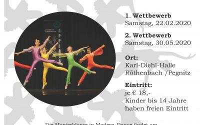Die Anmeldung für den 15. Ballettwettbewerb ist gestartet!