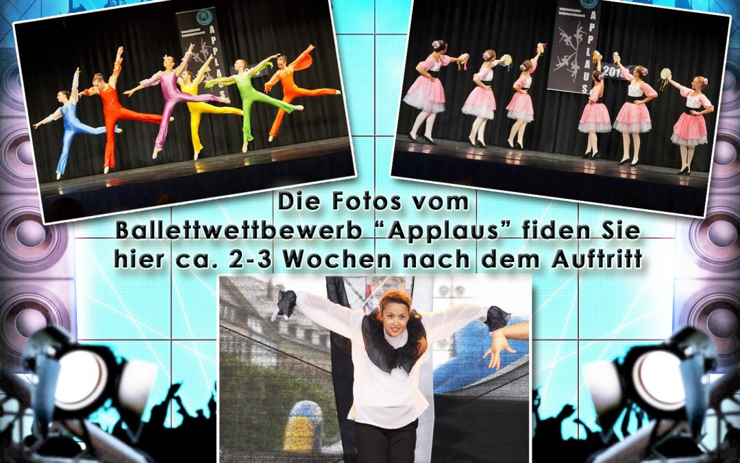 Official Photo Service: Link to the pictures of the 13th ballet competition APPLAUS