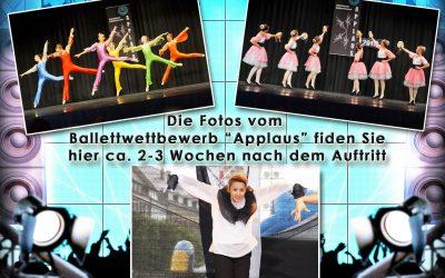 Offizieller Fotodienst: Link zu den Bildern vom 13. Ballettwettbewerb APPLAUS